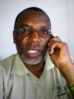 A portrait of Gideon Bulwani, ZOA-Z trustee, to accompany his biography