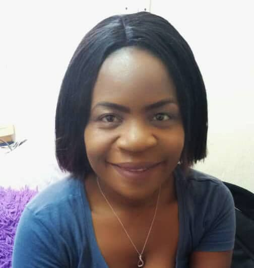 A portrait of Patricia Mbao, Project Co-ordinator for ZOA-Z, to accompany her biography